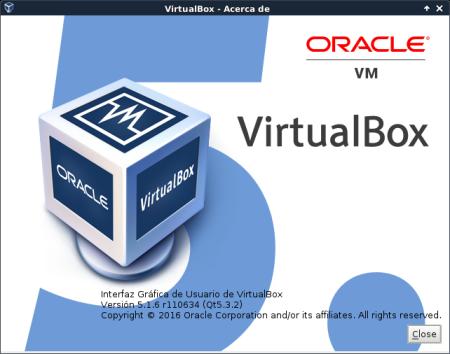 VirtualBox 5.1 en Debian jessie de 64 bits