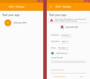 AutoCAD 360 de Android en Ubuntu 16.04
