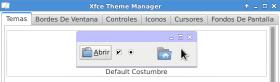 XFCE Theme Manager en Debian Jessie (imagen destacada)