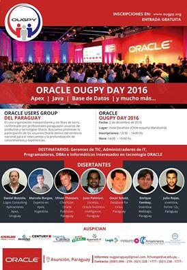 1 encuentro Oracle OUGPY Day Paraguay 2016