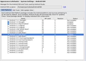 Agregando de forma offline API 17 en Android Studio (imagen destacada)