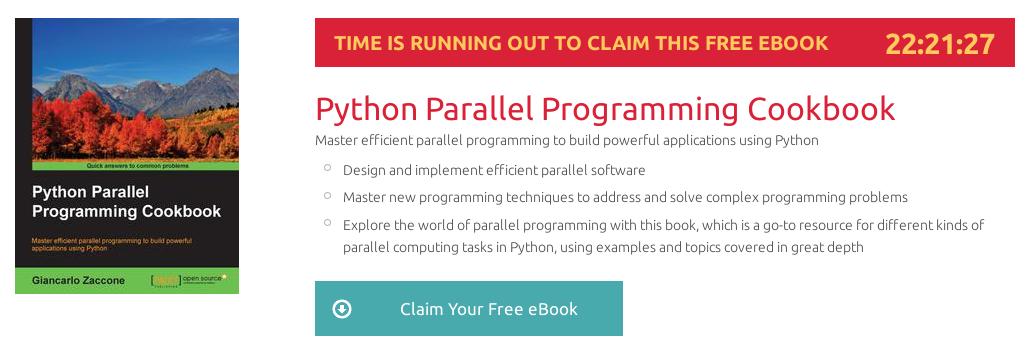 Python Parallel Programming Cookbook, ebook gratuito disponible durante las próximas 22 horas