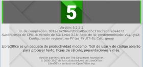 LibreOffice 5.2.5 en Debian Jessie de 64 bits (imagen destacada)