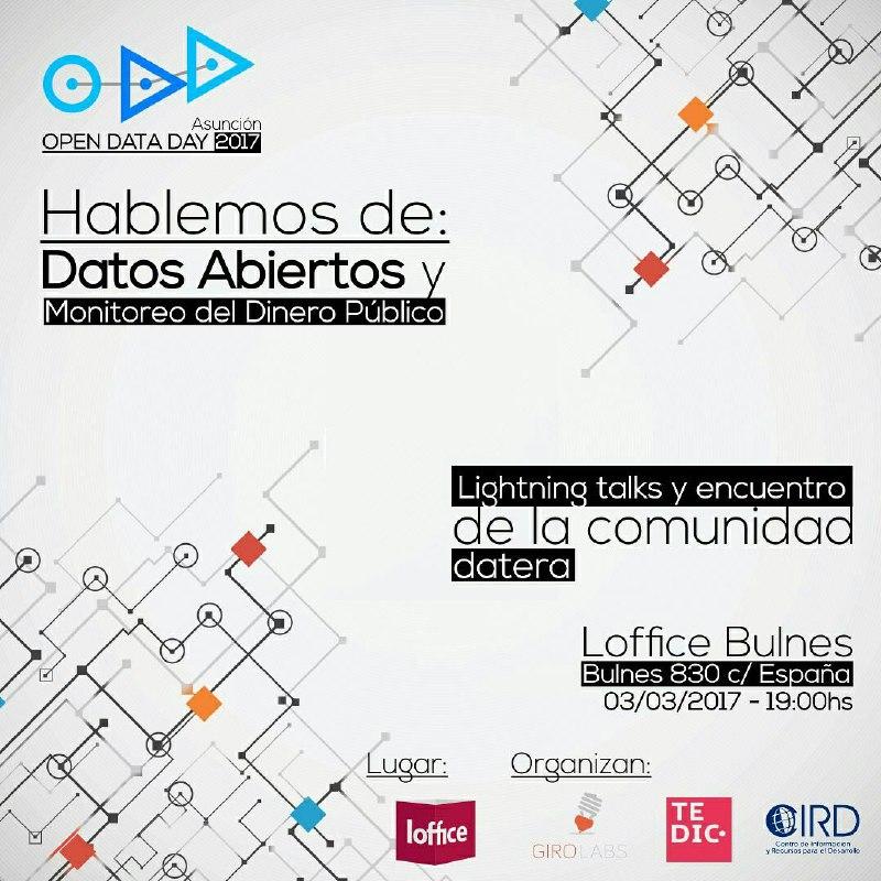 Evento sobre Datos Abiertos y Monitoreo del dinero público