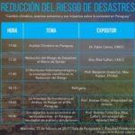 Evento sobre reducción del riesgo de desastres -