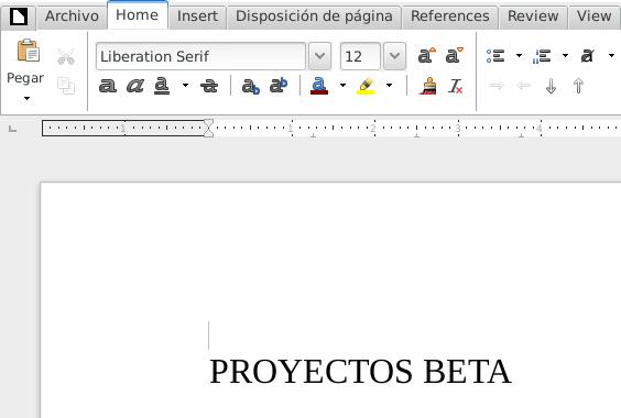 LibreOffice 5.3.0 en Debian Jessie de 64 bits