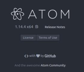 Atom en Ubuntu Yakkety Yak 16.10 (imagen destacada)