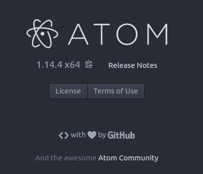 Atom en Ubuntu Yakkety Yak 16.10