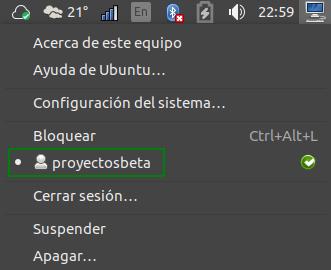 Cuenta desactivada de Sesión de invitados en Ubuntu