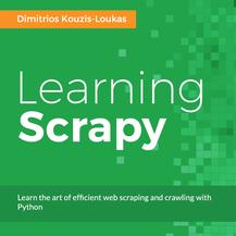 Learning Scrapy, ebook gratuito disponible durante las próximas 22 horas (imagen destacada)