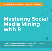 Mastering Social Media Mining with R, ebook gratuito disponible durante las próximas 22 horas (imagen destacada)