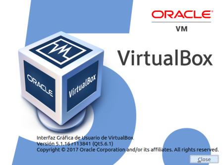 VirtualBox 5.1.16 en Ubuntu Yakkety Yak 16.10