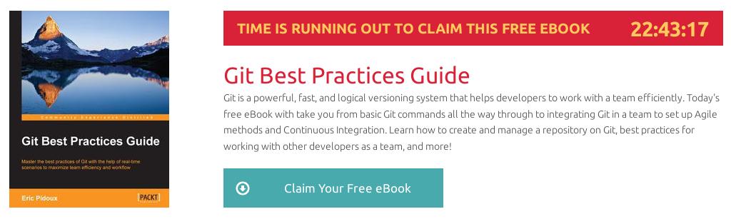 Git Best Practices Guide, ebook gratuito disponible durante las próximas 22 horas