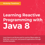 Learning Reactive Programming with Java 8, ebook gratuito disponible durante las próximas 20 horas