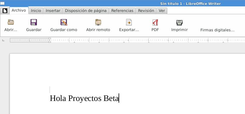 LibreOffice 5.3.2 en Debian Jessie de 64 bits