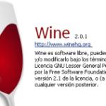 Wine 2.0.1 en Ubuntu Zesty Zapus 17.04
