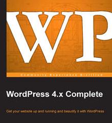 WordPress 4.x Complete, ebook gratuito disponible durante las próximas 20 horas (imagen destacada)