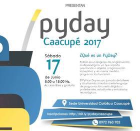 PyDay Caacupe (imagen destacada)