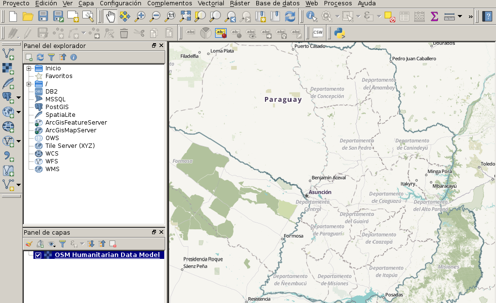 QGIS 2.18 en Debian Stretch