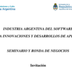 22 de Junio - Seminario y Ronda de Negocios del Sector Software en Asunción