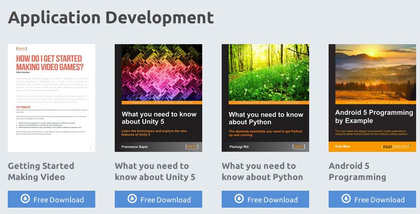 Ebooks sobre Application Development