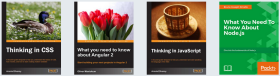 Ebooks sobre Web Development (imagen destacada)