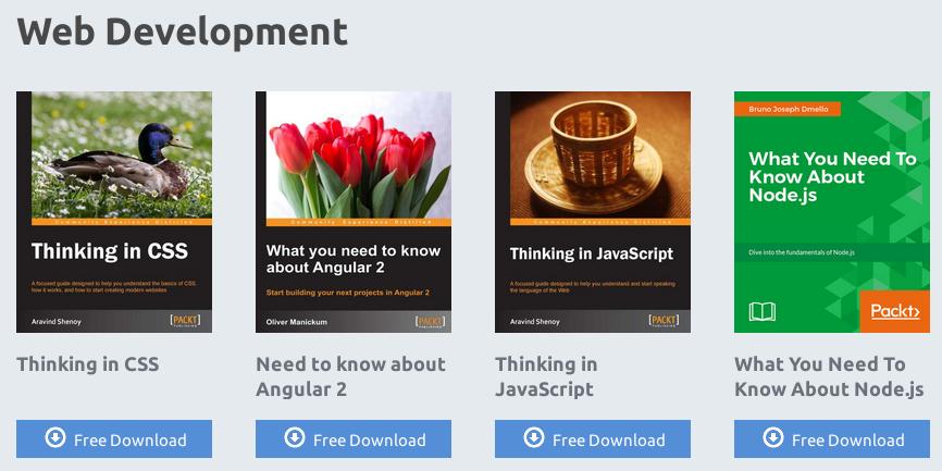 Ebooks sobre Web Development