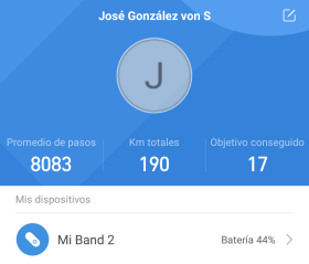 Mi Fit 3.0.3 para el Xiaomi Mi Band 2 (imagen destacada)