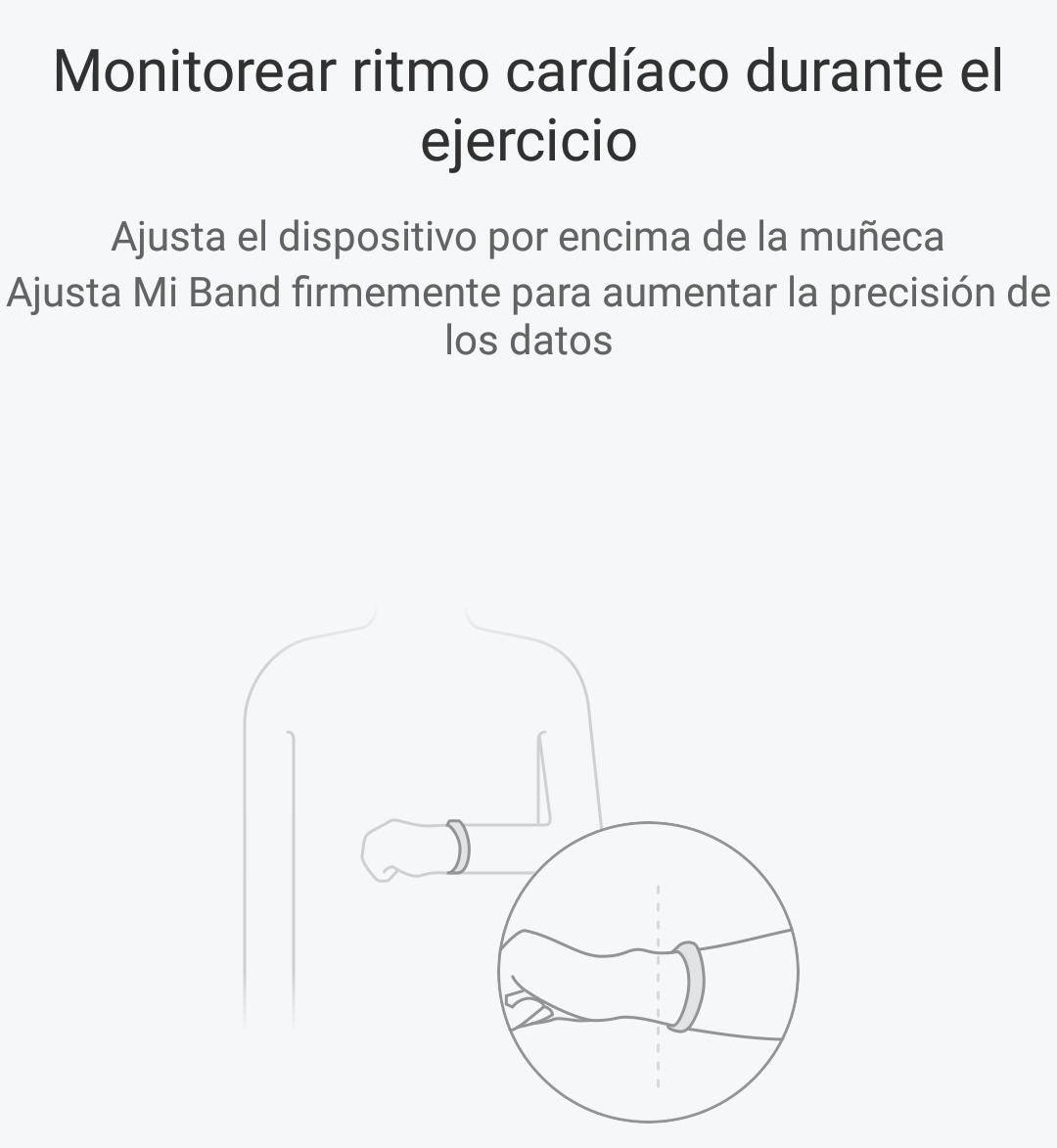Mi Fit 3.0.3 para el Xiaomi Mi Band 2