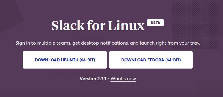 Descargar Slack para Ubuntu de 64 bits