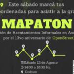 Celebramos mapeando en Asunción Paraguay