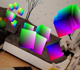 ARCore en un Samsung S8 (imagen destacada)