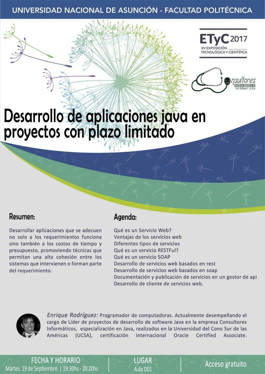 Desarrollo de aplicaciones java en proyectos con plazo limitado