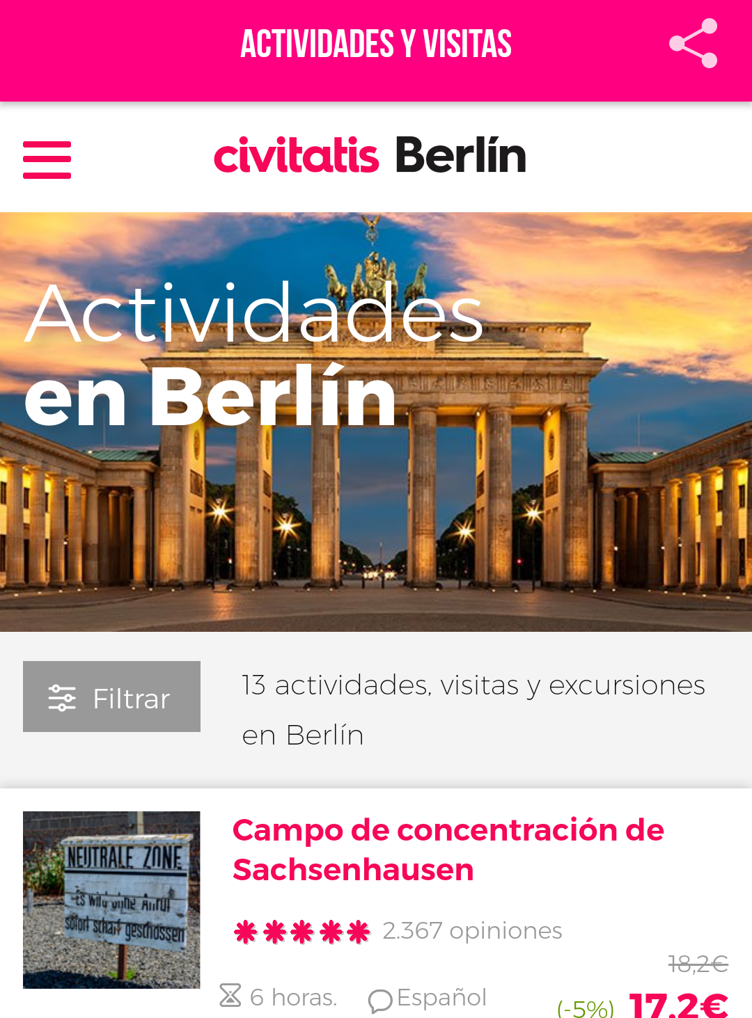 Guía de Berlín de Civitatis