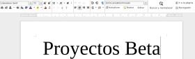 LibreOffice 5.4.1 en Debian Jessie (imagen destacada)