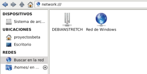 Network en Debian Stretch con Thunar (imagen destacada)