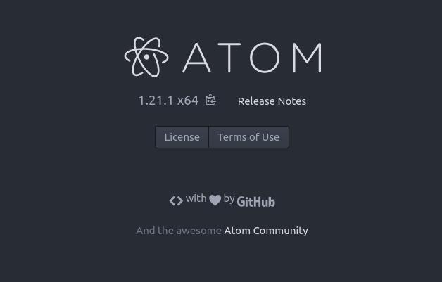 Atom en Ubuntu Artful Aardvark 17.10