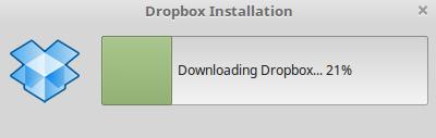 Descargar Dropbox en Linux Mint 18.2