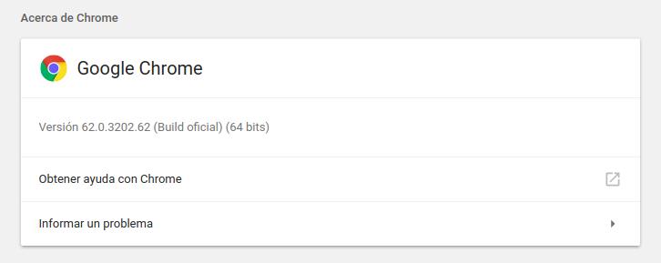 Google Chrome en Ubuntu 17.10 Artful Aardvark