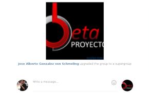 Proyectos Beta en Telegram (imagen destacada)