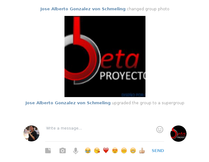 Proyectos Beta en Telegram