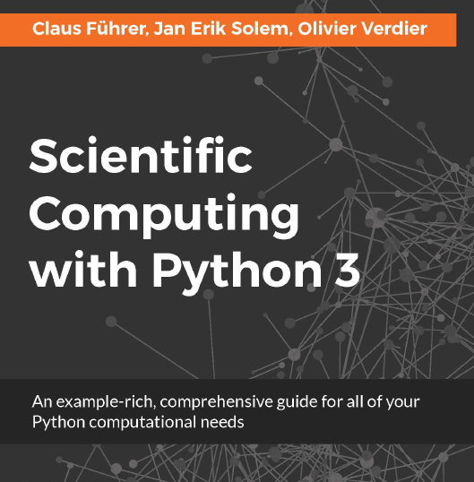 Scientific Computing with Python 3, ebook gratuito disponible durante las próximas 21 horas