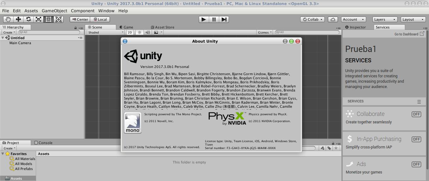 Unity en Debian Stretch