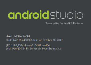Android Studio 3.0 en Ubuntu 17.10 Artful Aardvark