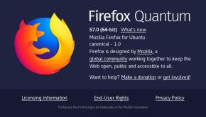 Mozilla Firefox 57 Quantum en Ubuntu 17.10 Artful Aardvark (imagen destacada)