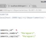API para obtener un departamento de Paraguay utilizando longitud y latitud