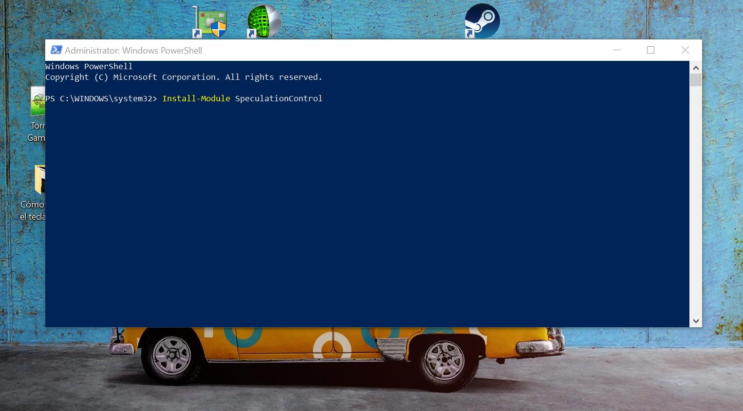 C mo saber si nuestro windows 10 es vulnerable a meltdown for Como se escribe beta