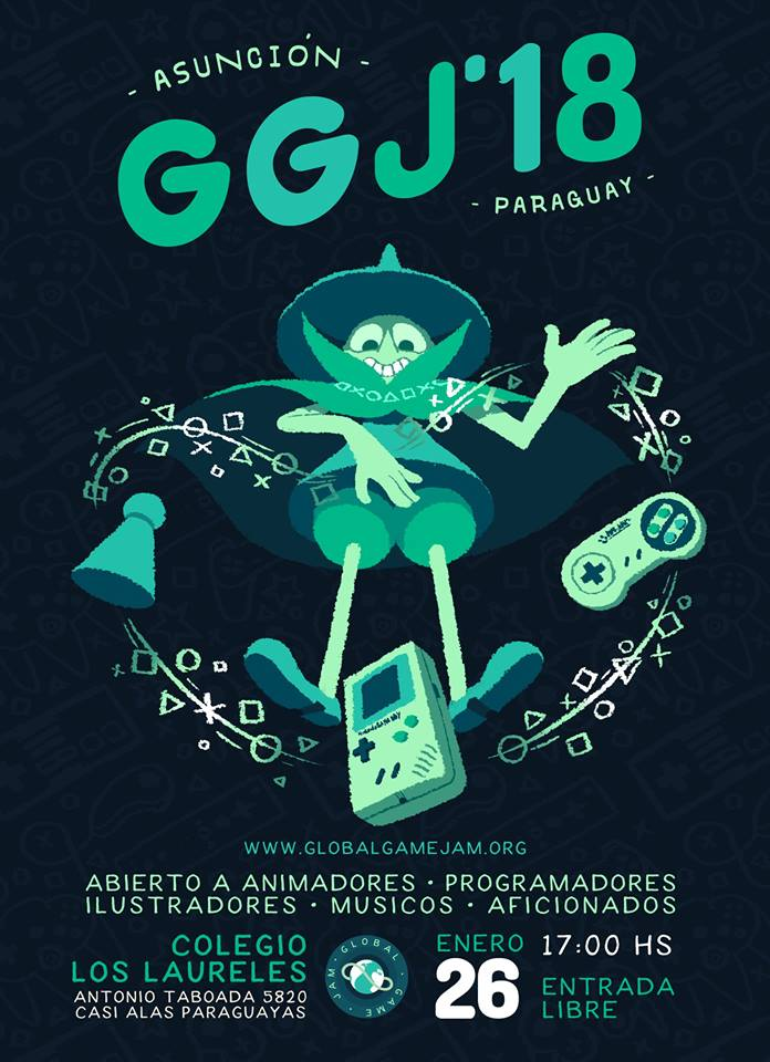 Global Game Jam 2018 - Asunción Paraguay