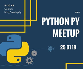 Python PY Meetup enero 2018 (imagen destacada)