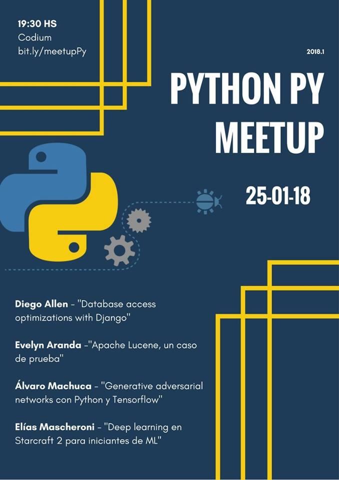 Python PY Meetup enero 2018